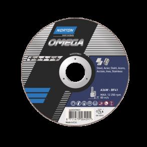 Norton skæreskive Omega Ekstrem høj og ensartet kvalitet for stål & rustfri